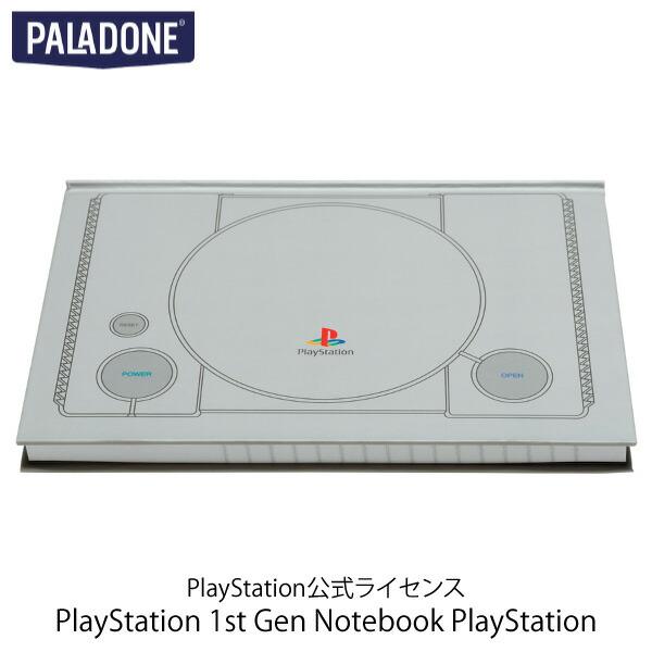 PALADONE PlayStation 1st Gen Notebook PlayStation 公式ライセンス品 # MSY4135PS  パラドン