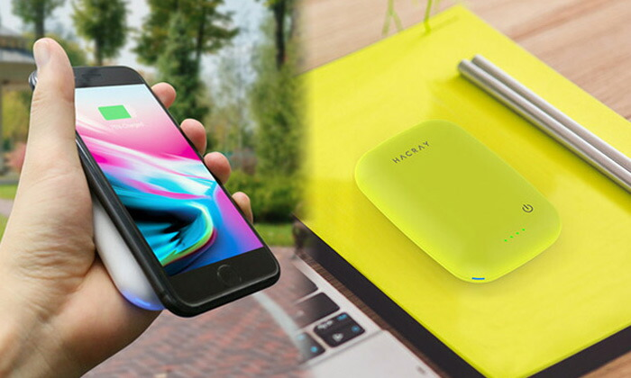 HACRAY  モバイルバッテリー Cable-Free Mobile Battery 10W