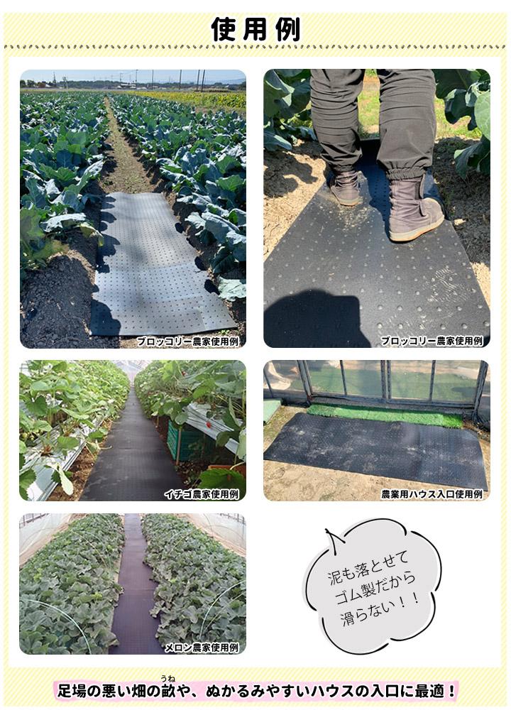 農業用ゴムマット35cm×2m