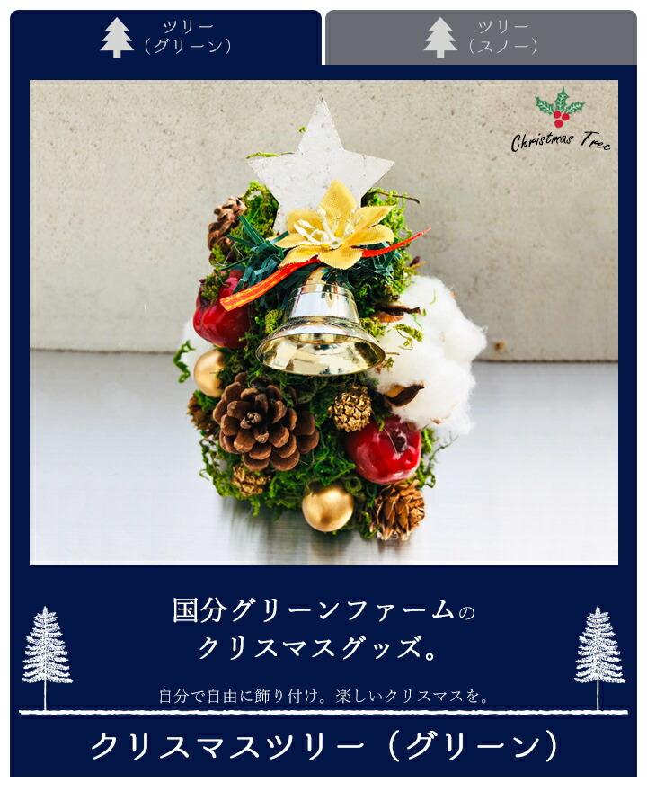 クリスマスツリー手作りキット<グリーン>