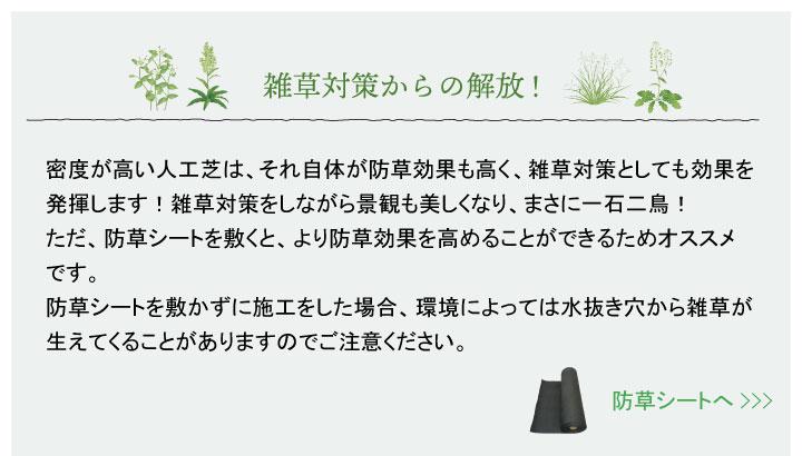 雑草対策_防草シートへ
