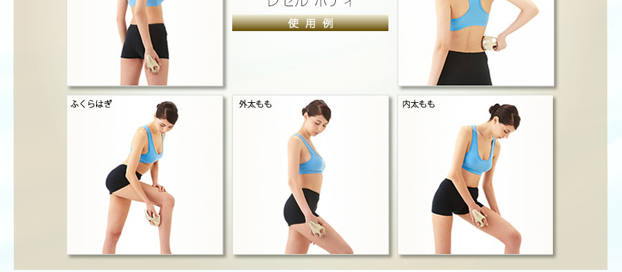 LECELL FOR BODY 使用例