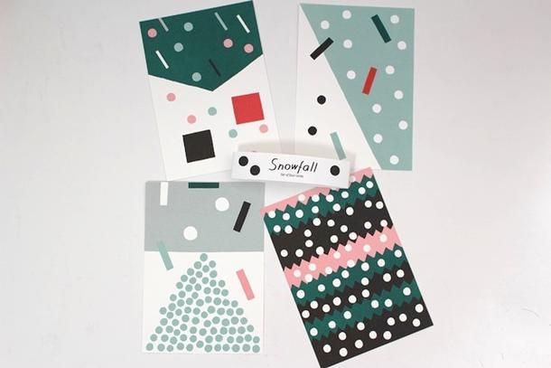 誕生日に贈る、北欧デザインのポストカードのおすすめを教えてください。