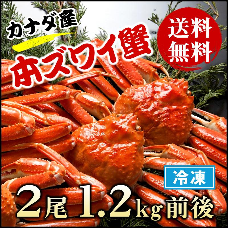 コクのある旨味!急速冷凍で鮮度抜群!カナダ産 本ズワイ蟹