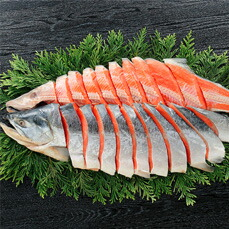 【熟成紅鮭】姿切身・1尾まるごと