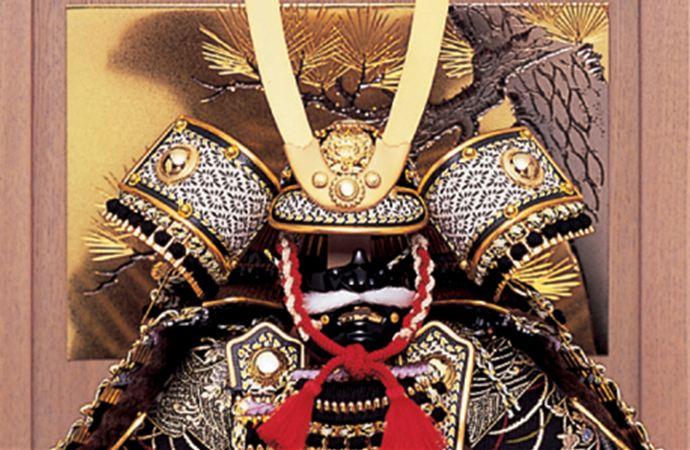五月人形 甲冑飾り 東旭監製 鎧飾り 大鎧 万葉鎧飾り 7号(極細小札仕様)画像2