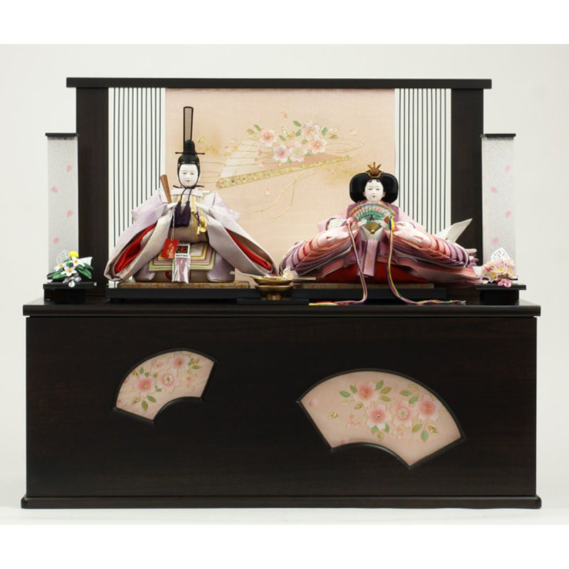 kobo tensho rakuten global market hina dolls popular puppet is the material can talk about luxury luxury kimono fabric for the human will not cut sharply and made costumes using our original and new kokinshu chicks
