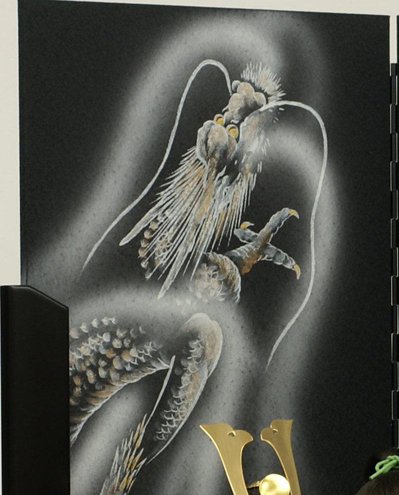 五月人形 五月節句飾り 平飾り 武者人形 子供大将 (陣羽織姿) 人形工房天祥オリジナル 五月人形・健ちゃんシリーズ 「健 (陣羽織・立姿)」 (正絹糸縅仕立)画像9