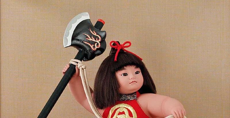 五月人形 金太郎人形 お祝い飾り 子供大将人形・武者人形 吉徳大光作 端午の節句 初節句 お祝い人形 「金太郎8号童」画像2