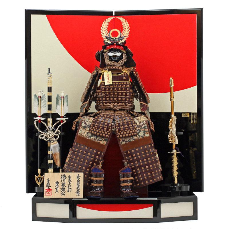 徳川家康公之鎧8号-日の丸飾り