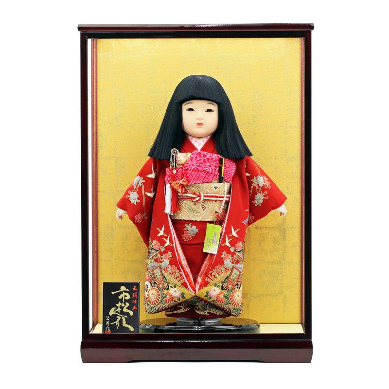 ケース飾り-市松人形13号