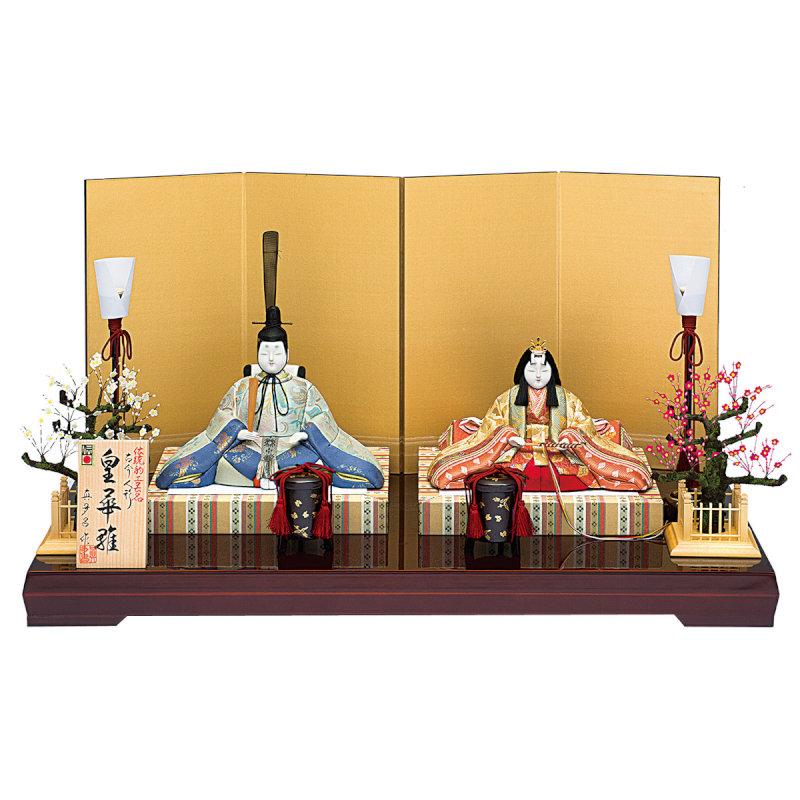伝統的工芸品 親王飾り「真多呂作 皇華雛セット」