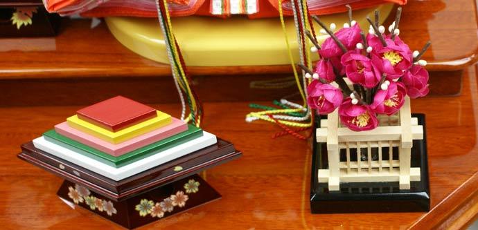 雛人形 ケース飾り 親王飾り 十二単 衣装着雛人形 人形工房天祥オリジナル 衣装着ひな人形 (ケース入・二人飾り)画像10