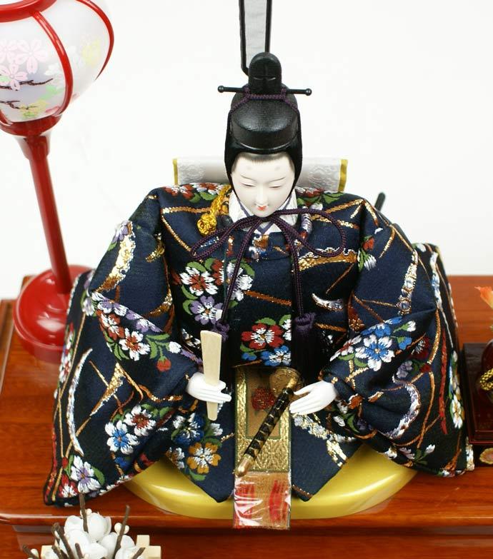 雛人形 ケース飾り 親王飾り 十二単 衣装着雛人形 人形工房天祥オリジナル 衣装着ひな人形 (ケース入・二人飾り)画像7