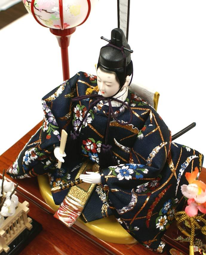 雛人形 ケース飾り 親王飾り 十二単 衣装着雛人形 人形工房天祥オリジナル 衣装着ひな人形 (ケース入・二人飾り)画像9