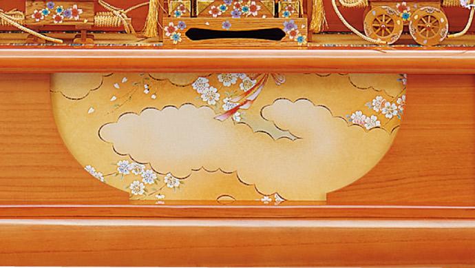 雛人形 十二単 衣装着雛人形 祥秀作 三段飾り 雛 十番親王三五官女 (三人官女付)画像17
