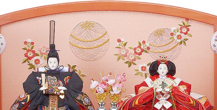雛人形 十二単 衣装着雛人形 祥秀作 三段飾り 雛 三五親王芥子官女 (三人官女付)画像8