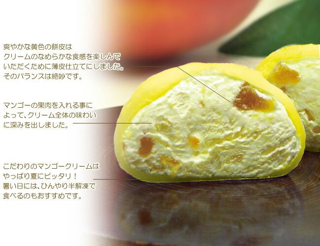 とろけるマンゴー生大福
