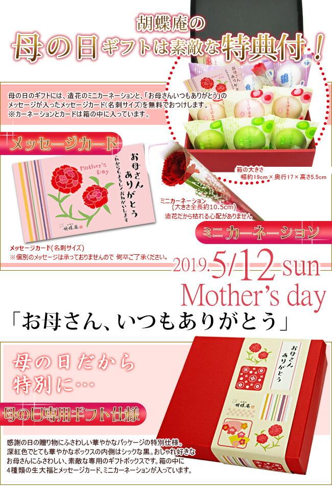 母の日プレゼント限定パッケージ