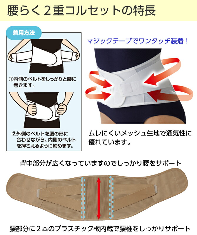 f9eaa4545c4 kodawarizakkahompo  Supporter corset waist preventing low back pain ...