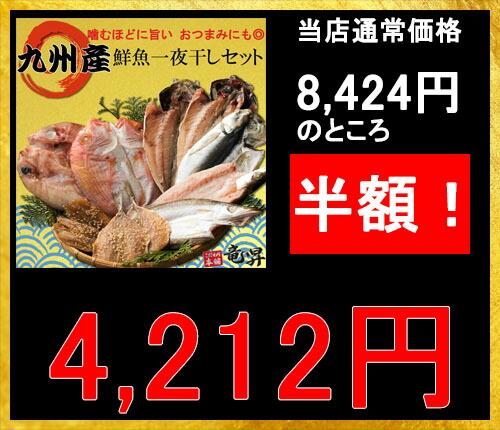 九州産鮮魚一夜干しセット