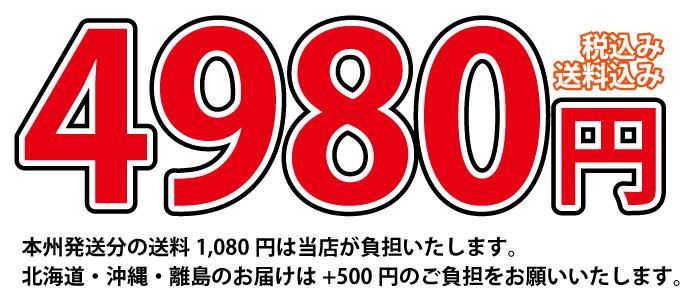 4980円送料込み