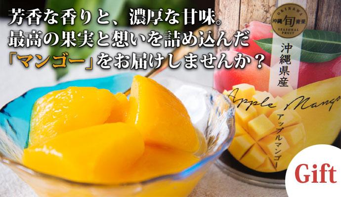 沖縄県産アップルマンゴー缶詰