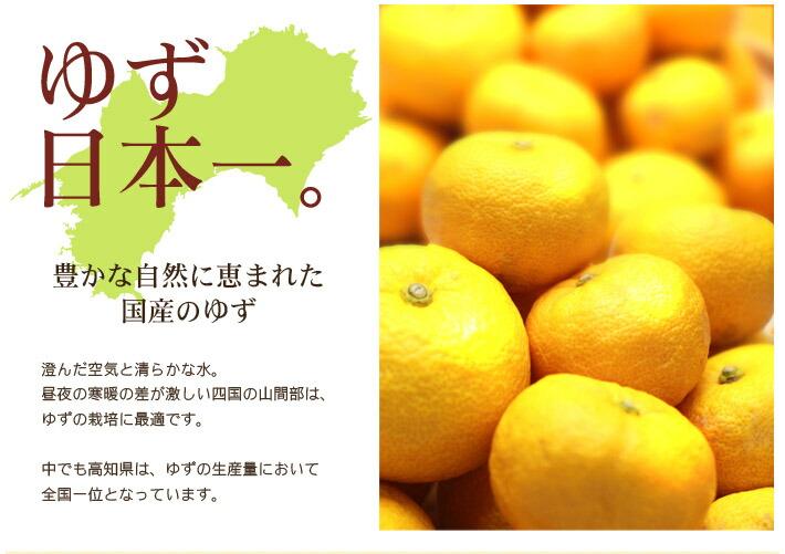 ゆず日本一