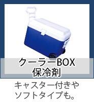 クーラーBOX&保冷剤