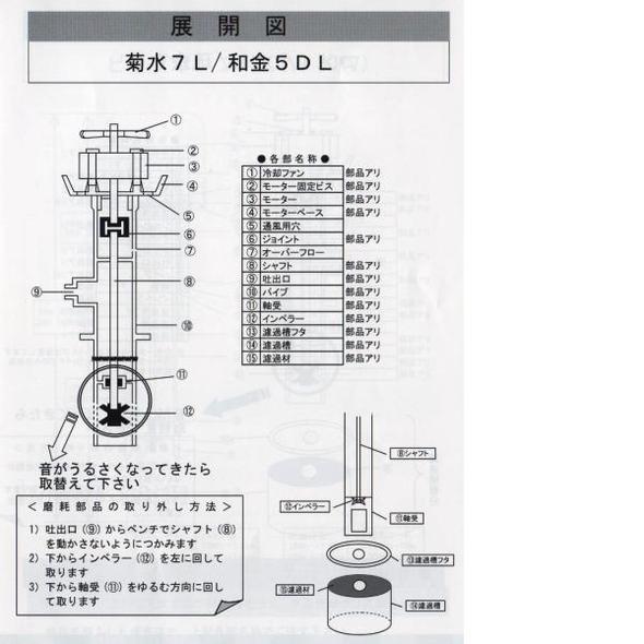 Koiootani Rakuten Global Market Sense Water Cleaner Kikusui For Impeller
