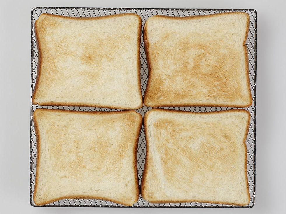トースト4枚焼き