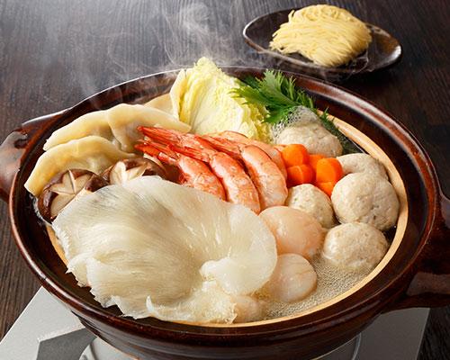 ふかひれ海鮮鍋