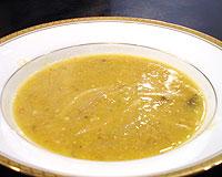 蟹黄鮮菜湯(上海蟹みそと野菜のスープ)