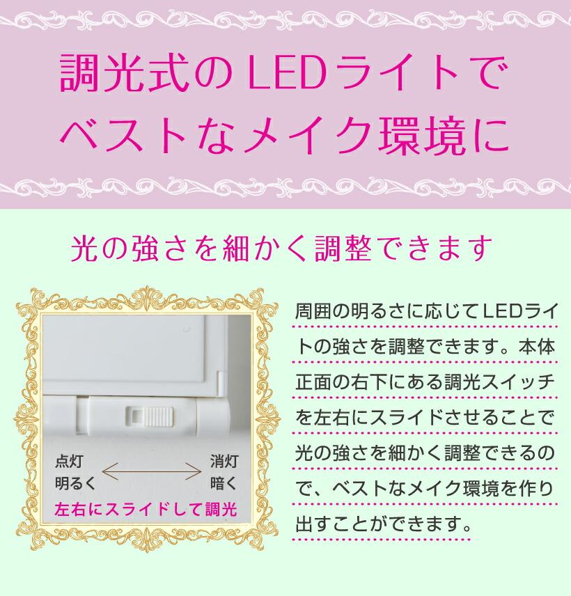 調光式のLEDライト