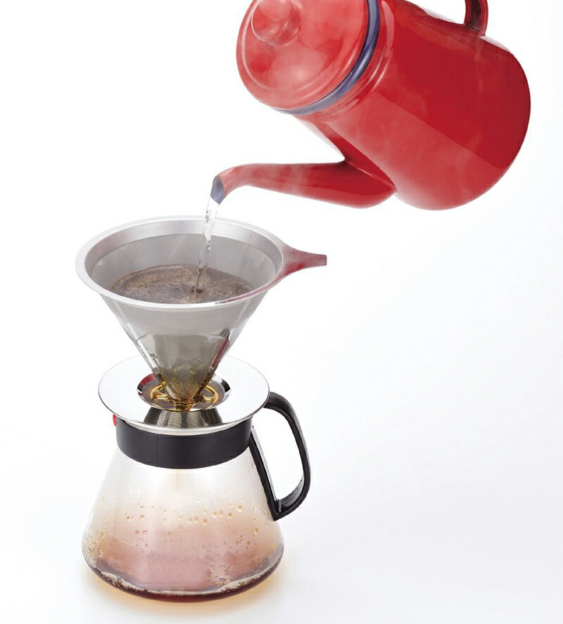 コーヒー本来の味わいを楽しめる