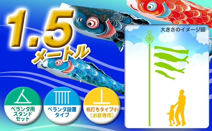 黒鯉のサイズ1.5m