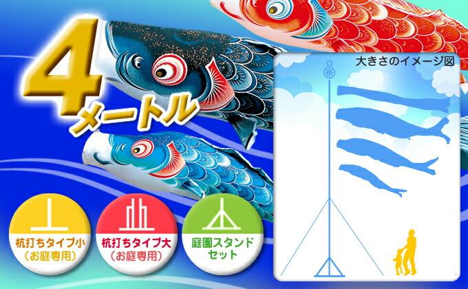 黒鯉のサイズ4m