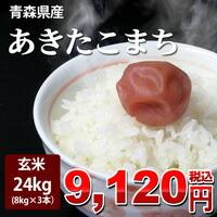 青こま玄米24kg