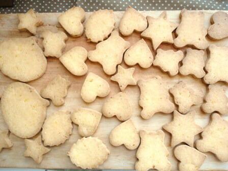米粉で作るかぼちゃクッキー