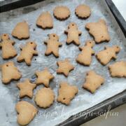 米粉のジンジャークッキー 焼き上がり