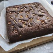 製菓製パン用米粉で作るブラウニー 焼く