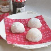 もち粉で作るクリームチーズ大福 出来上がり