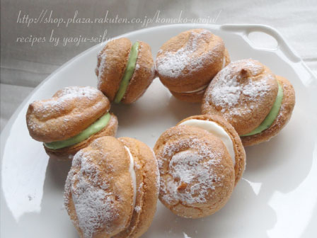 洋菓子用米粉で作るブッセ