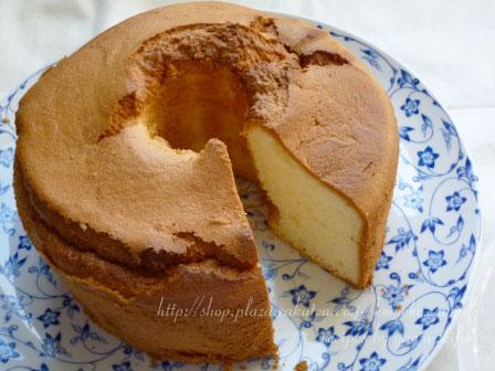 製菓製パン用米粉で作るプレーンシフォンケーキ