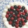 米粉のベリーケーキの作り方