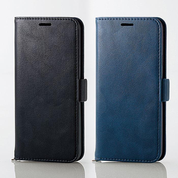 0a3d1578e2 LG style LGstyle L-03K ケース カバー 手帳型 ソフトレザーカバー 磁石付 手帳型ケース 二つ折り シンプル  スマートフォンケース LGスタイル L03K エレコム PD- ...