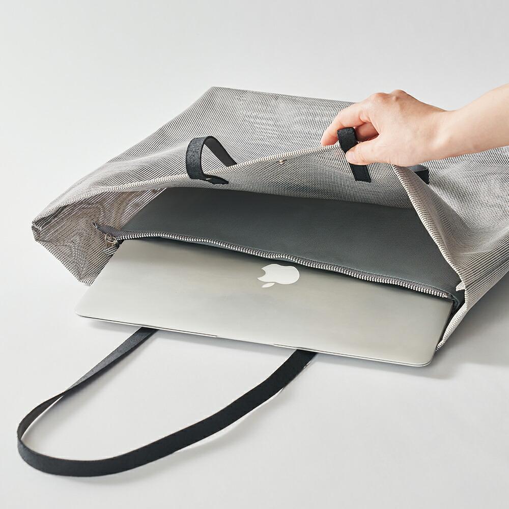 アルテクロス ALLTE CLOTH Bag トートバッグ 横長トート 通勤バッグ ビジネスバッグ 鞄 かばん メッシュ 軽い 大きい A3サイズ