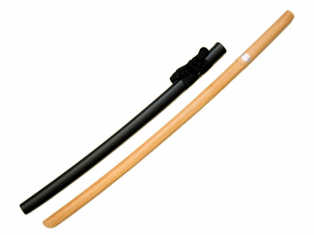 鞘付き赤樫木刀
