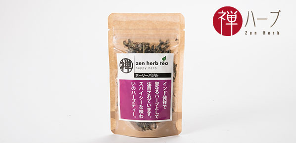 The taste that is spicy a refreshing sweet smell! Chinese holly basil (one  bag of 7 g)