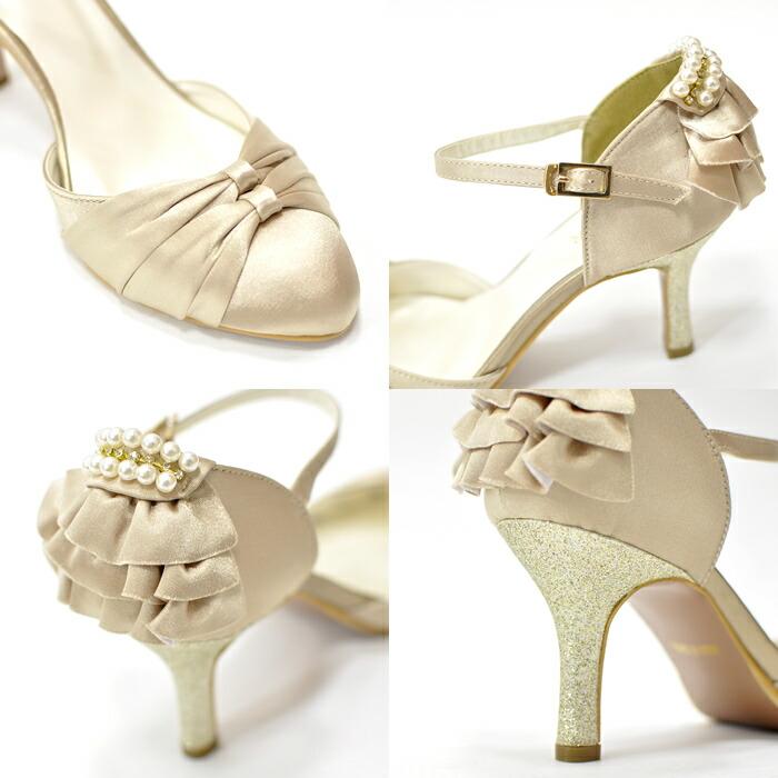 4d5746d460e18 結婚式披露宴パーティー靴フォーアマルシューズパンプスお呼ばれヒール ...